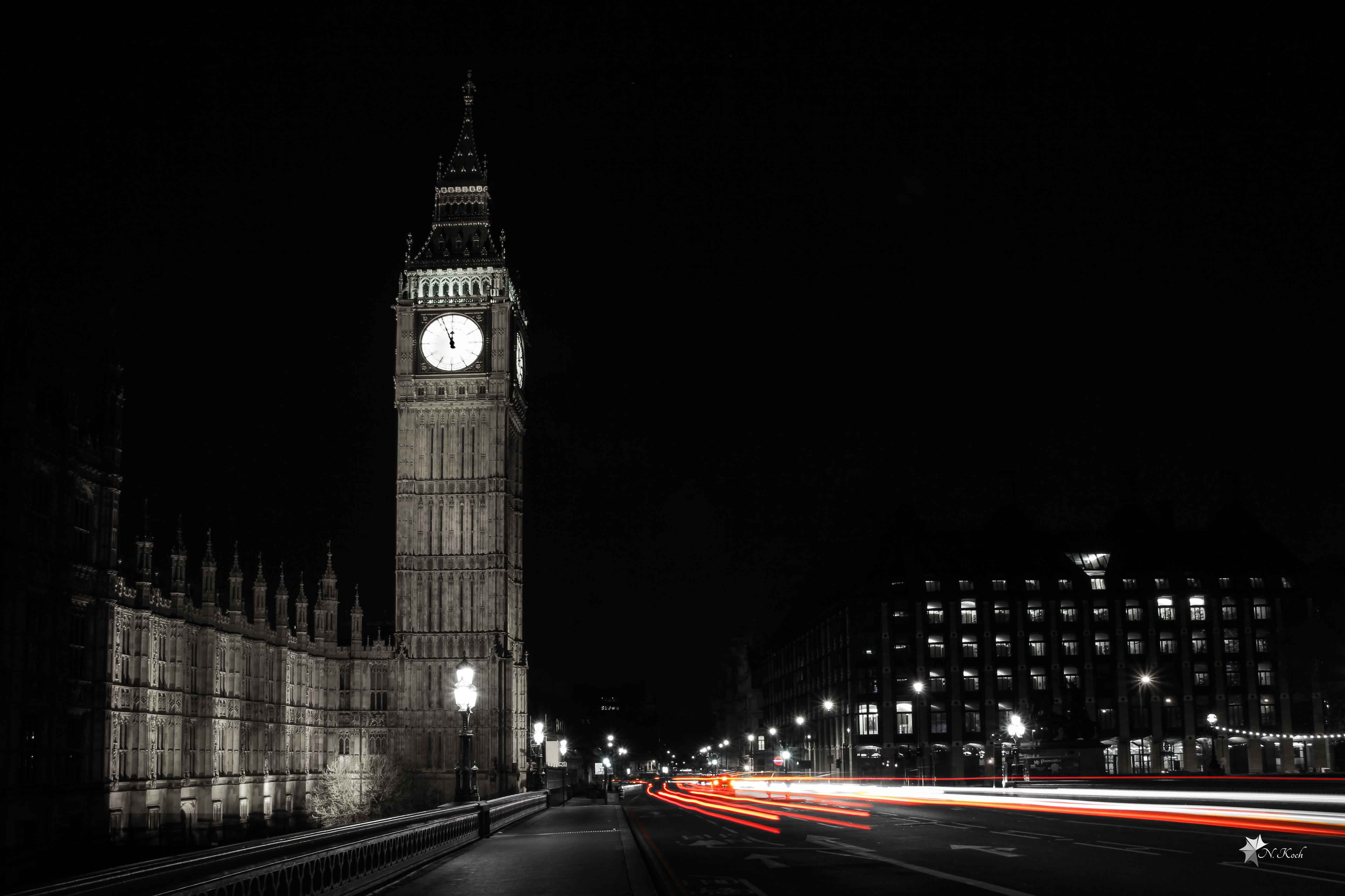 2014, London | Big Ben at night