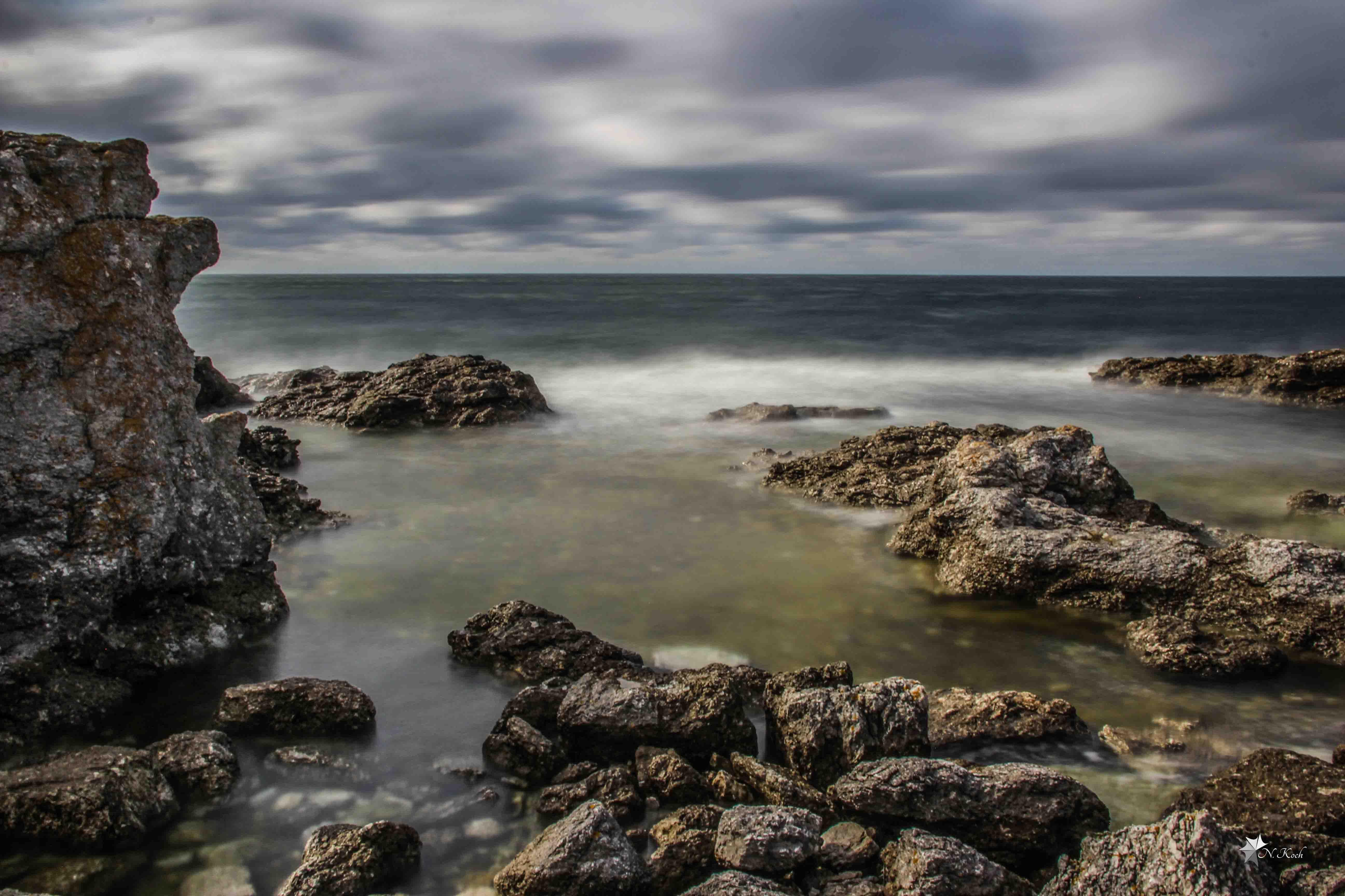 2014, Sweden | Rocks in the sea