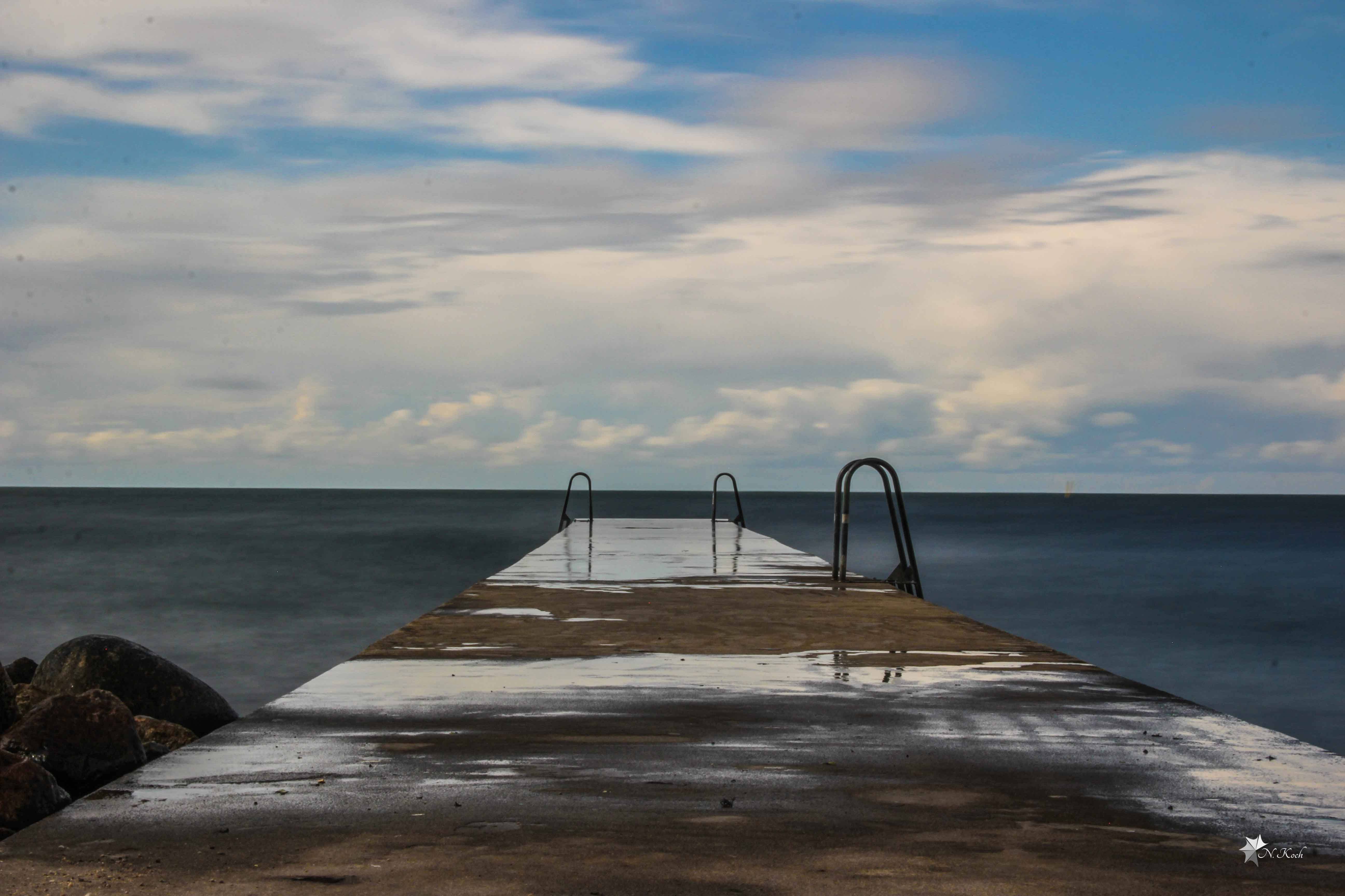 2014, Sweden | Lonely pier in Visby (Gotland)