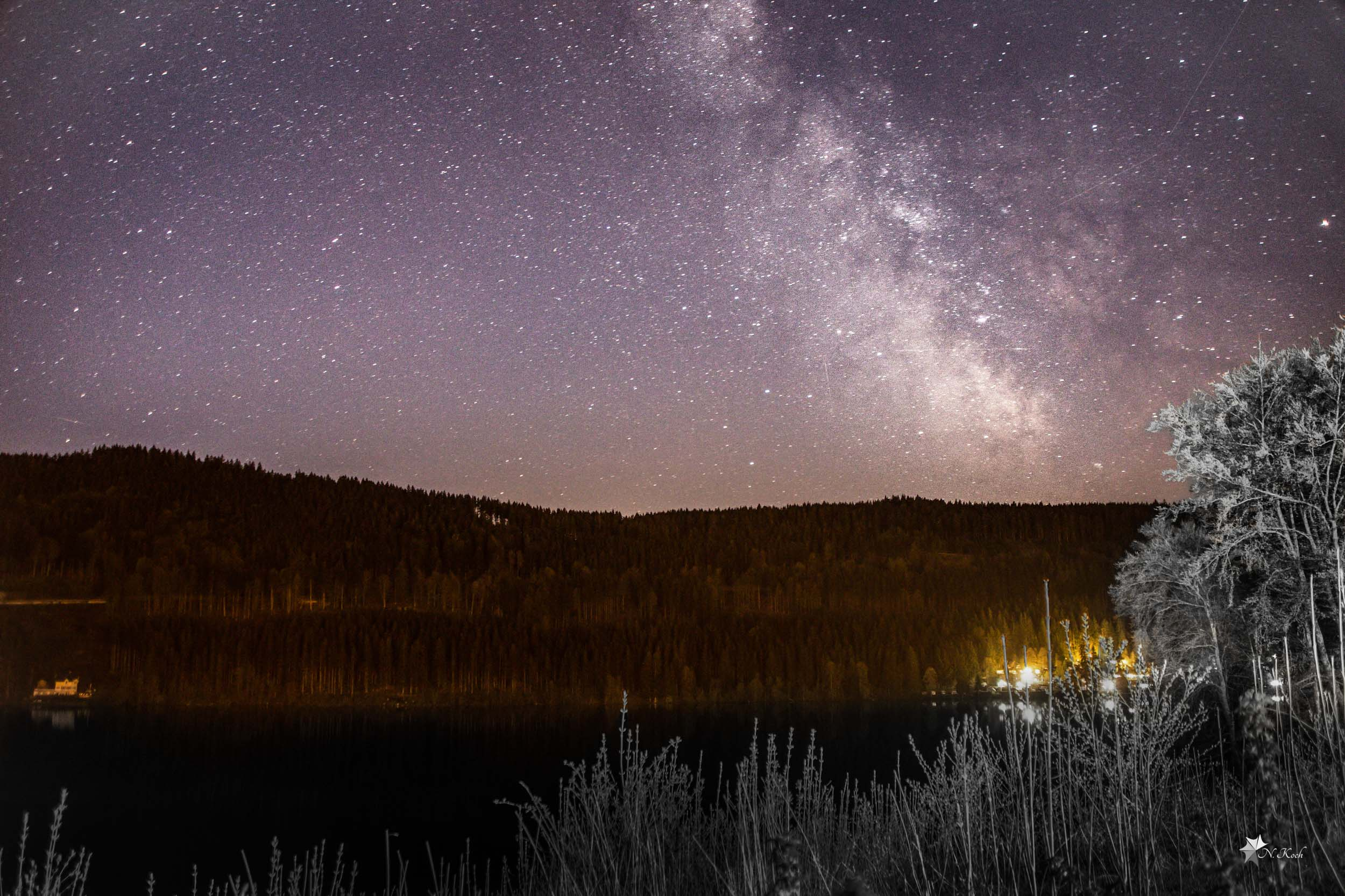 2016, Blackforest | The milkyway above the Titisee
