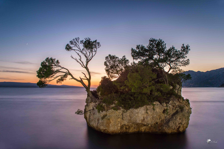 2015, Croatia | Long exposure at the beach of Brela