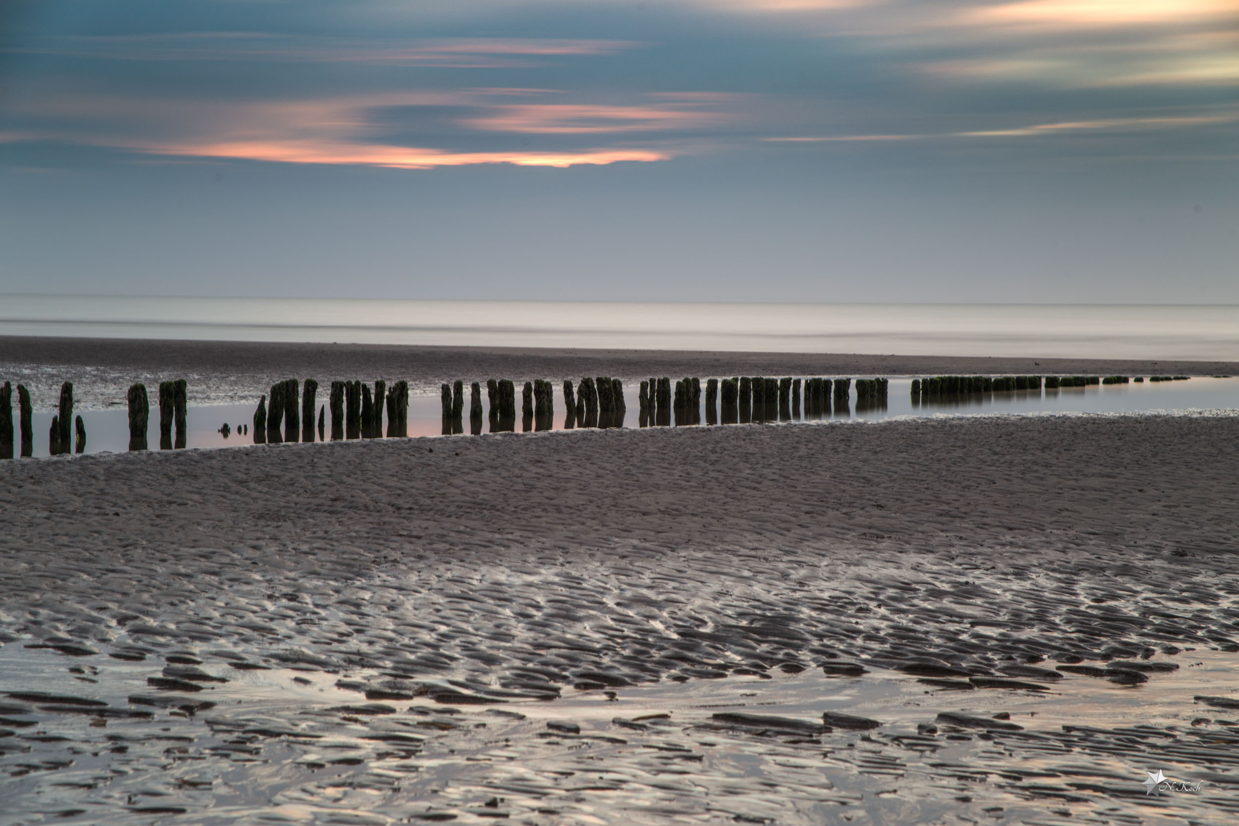 2015, Norderney | Long exposure at the beach