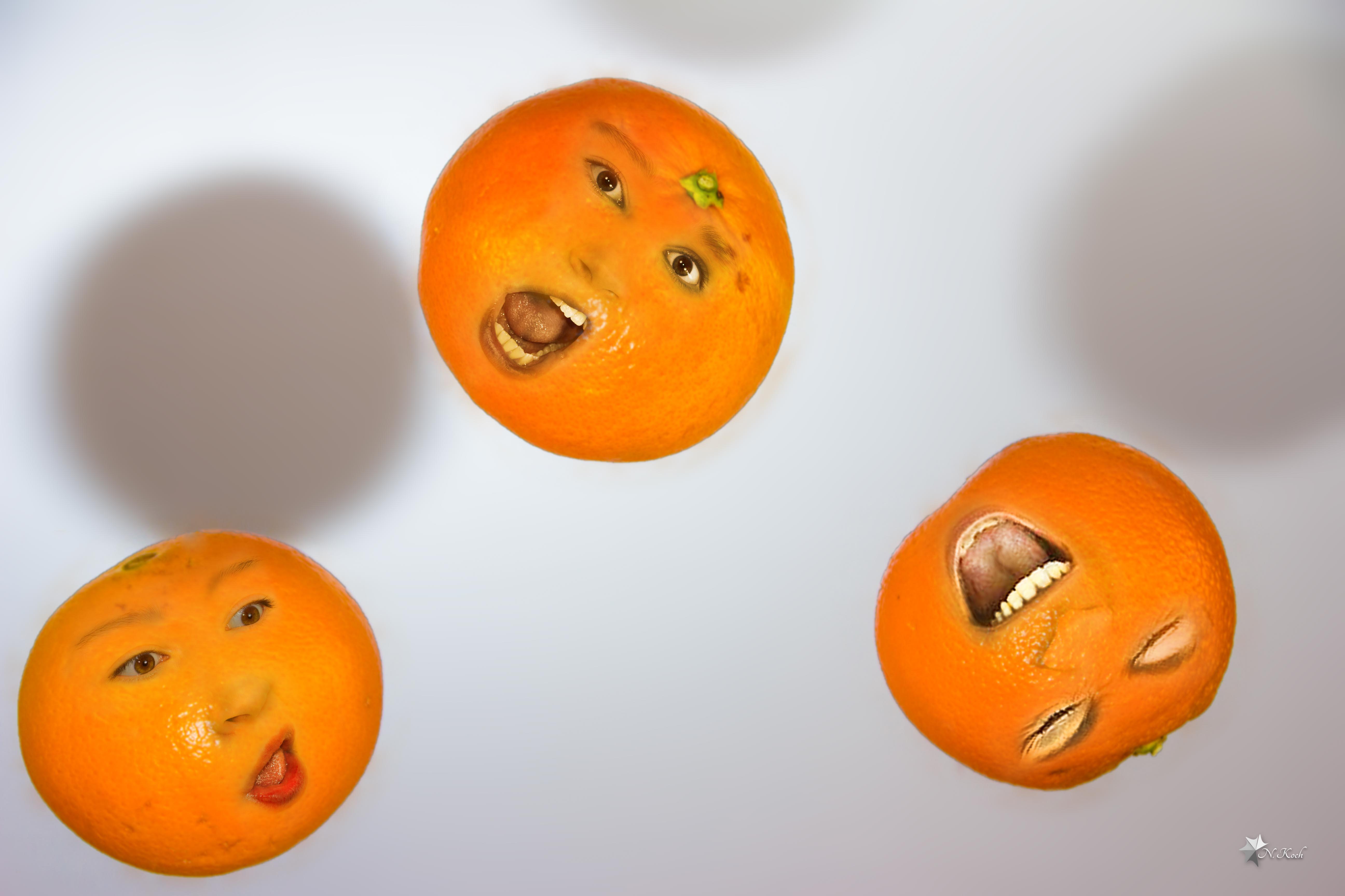 2014, Oranges | Crying oranges