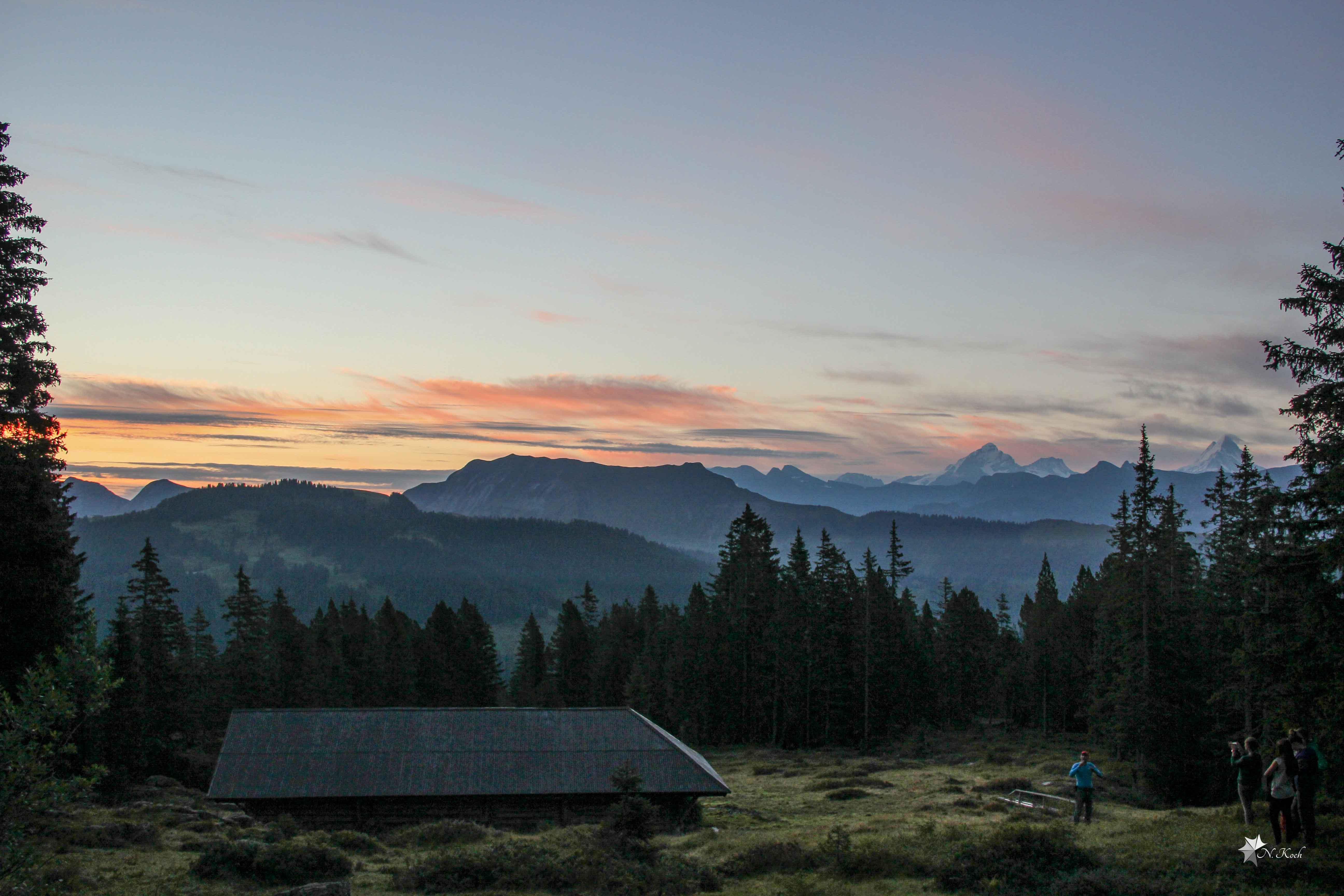 2014, Switzerland | Sunrise in the Alps