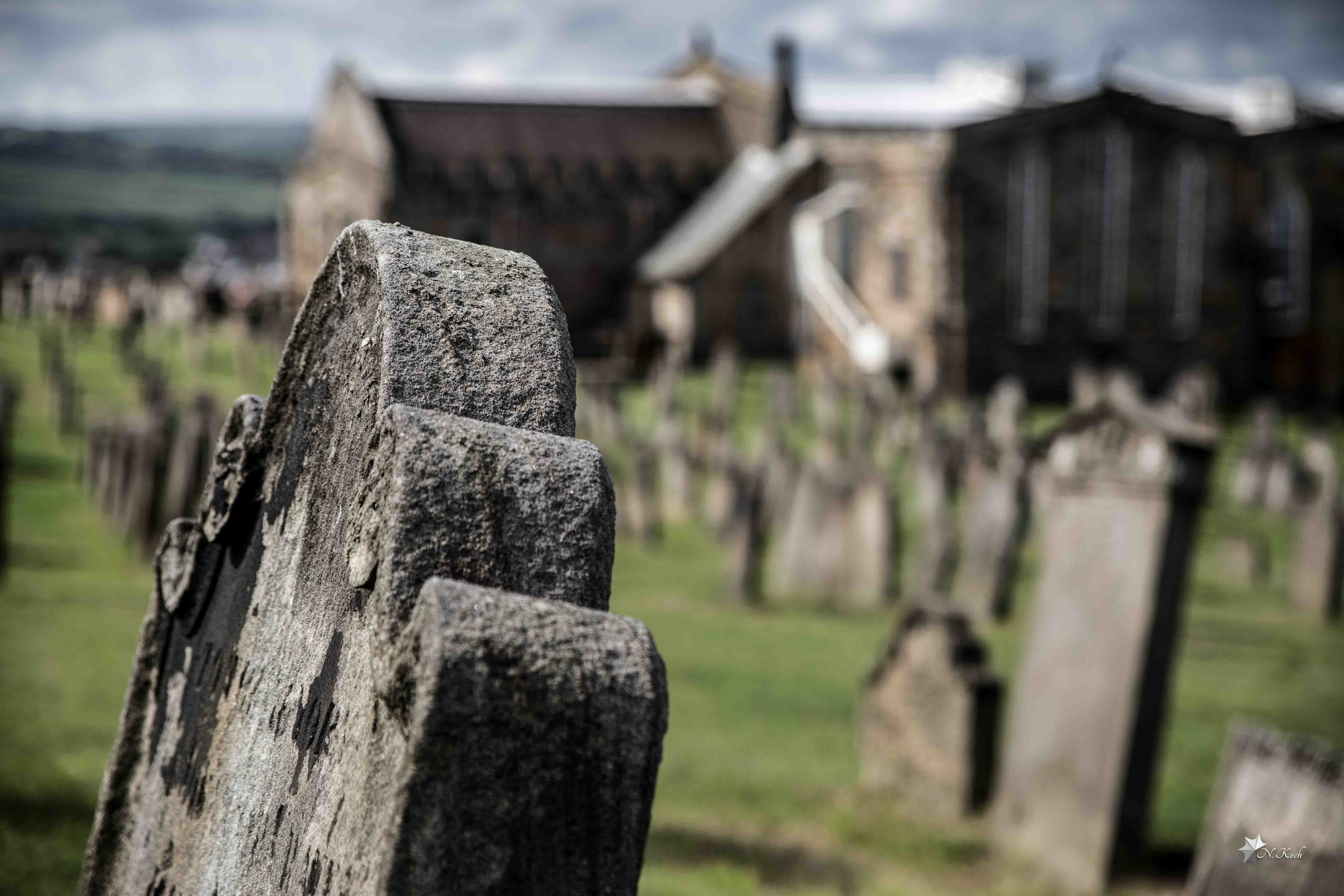 2015, Whitby | The cemetery of Whitby
