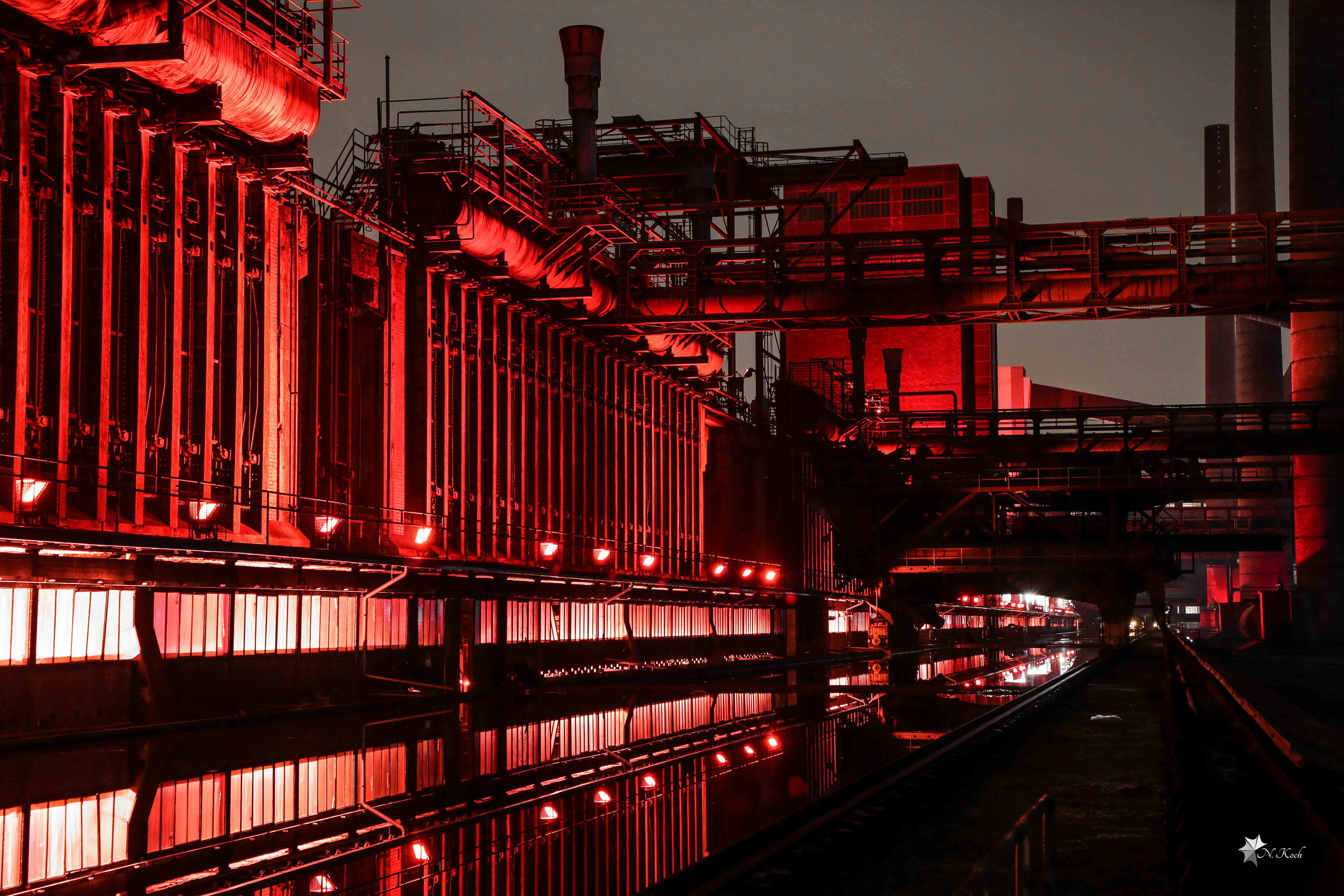 2015, Essen | Zeche Zollverein at night